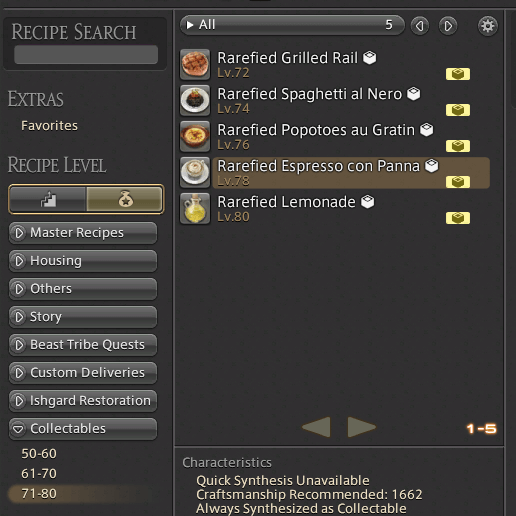 ffxiv craft collectables guide ffxivgillionaire gil